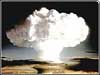 Photo of hydrogen bomb explosion